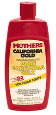 Mothers California Gold All-Natural Liquid Carnauba Wax (16 oz.)