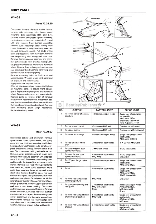 jaguar xj6  u0026 xj12 series 3 service manual  1979