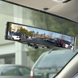VAN CAR INTERIOR REAR VIEW DIPPING MIRROR REARVIEW MIRROR STICK ON