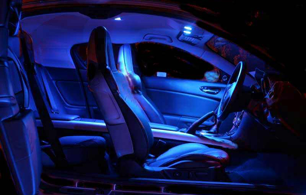 interior car led light mood lighting led portable lighting map lights. Black Bedroom Furniture Sets. Home Design Ideas