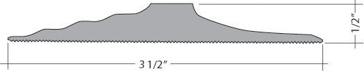 Tsunami Seal Garage Threshold Door Seal Kit Seal Series